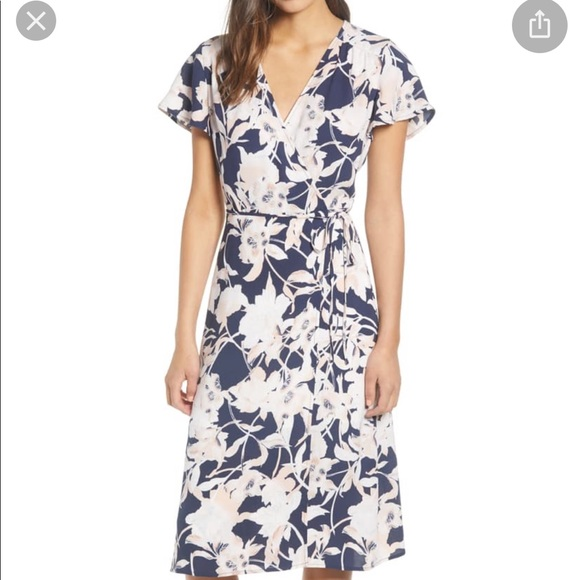 Leith Dresses & Skirts - Leith floral wrap dress